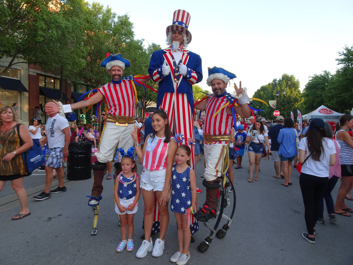 Uncle Sam and Friends